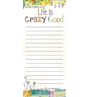 LISTPAD/Life is crazy