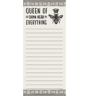 LISTPAD/Queen of everything
