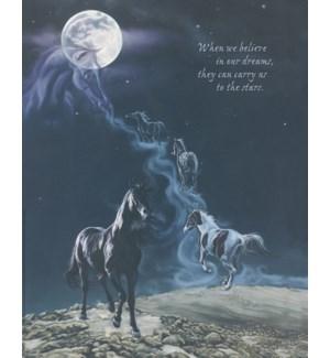 POSTER/Horses galloping