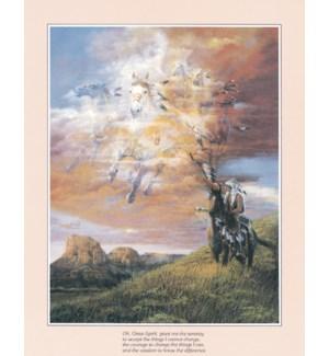 POSTER/Horses in sky