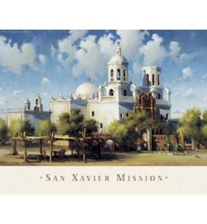 POSTER/San Xavier Mission