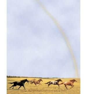 SMNOTEPAD/Horses run