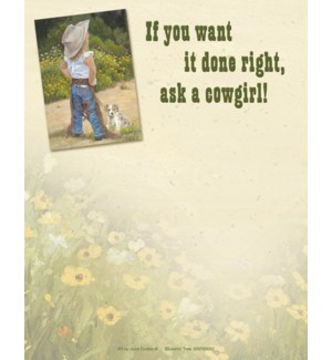 SMNOTEPAD/Cowgirl chaps