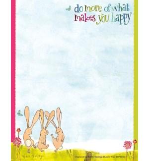 SMNOTEPAD/Dancing bunnies