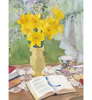 SY/Daffodils and a Bible