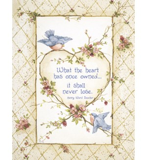 SY/Bluebirds & heart wreath
