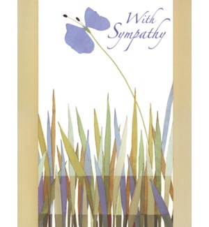 SY/Marsh reeds with flower