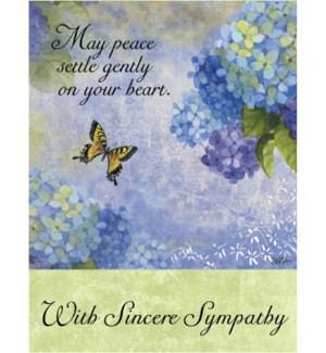 SY/Heart flowers butterfly