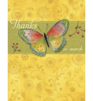 TY/Zipkin butterfly and thanks