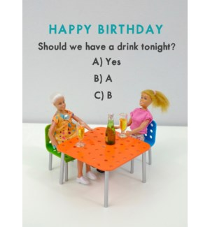 BD/Drink Tonight