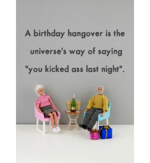 BD/Birthday Hangover