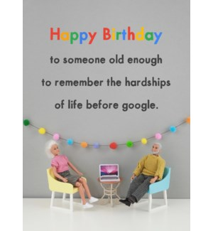 BD/Google Birthday