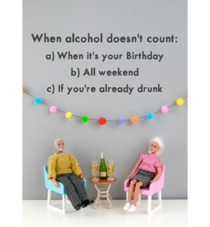 BD/Alcohol Counts