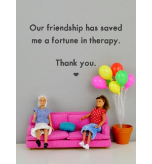 FR/Therapy Friendship