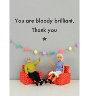 TY/Bloody Brillant