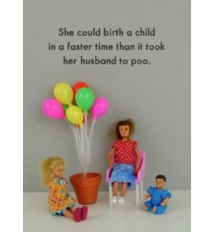 ED/Birth a child