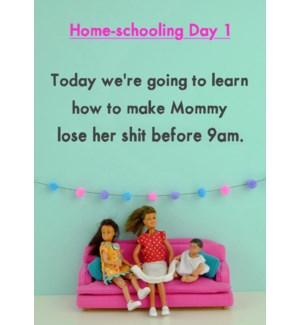 ED/Homeschool Day 1