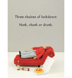 LD/Hunk, Chunk, Drunk
