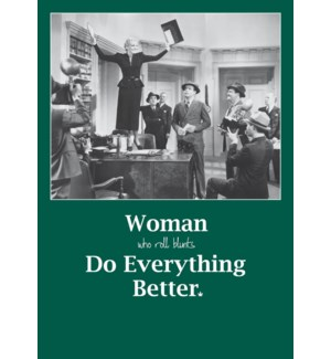 ED/Woman Do Everything