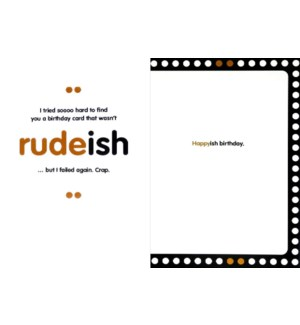BD/rudeish
