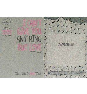 BD/I Cant Give You Anything
