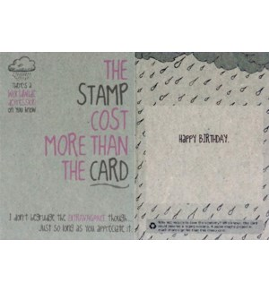BD/The Stamp Cost More
