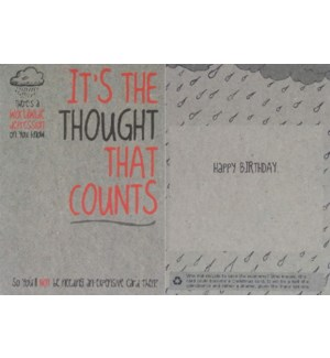 BD/The Thought That Counts