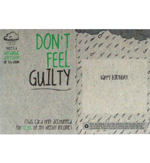 BD/Dont Feel Guilty