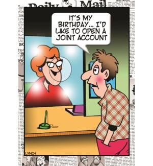 EDB/Joint Bank Account
