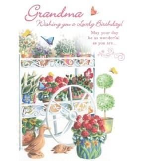 BD/Floral Cart