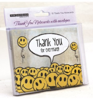 BOXCARDS/SMILIE BALLOONS TYOU
