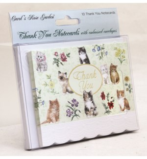 TYCARDS/Cute Cats On Green