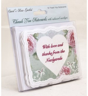 TYCARDS/Wedding Heart & Roses