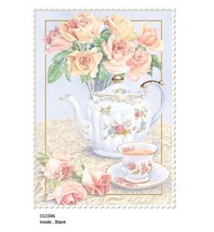 BL/Roses & Teapot