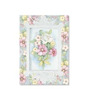 BD/Pink White Floral Bouquet