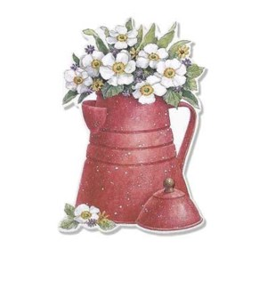 BL/Red Flecked Pot