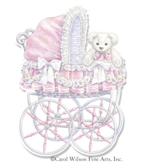 NB/Pink Baby Carriage