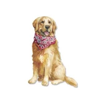 BL/Dog In Handkerchief