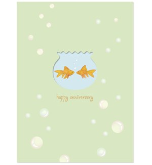 AN/Green Orange Gold Fish