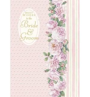 WD/Pink Bride & Groom