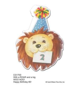 BD/2nd Birthday Lion