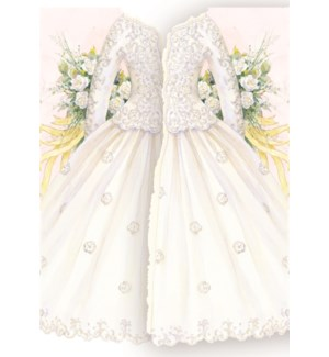WD/Long Sleeved Wedding Dress