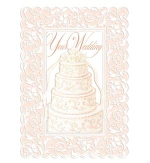 WD/Pink Wedding Cake
