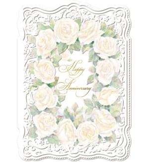 AN/Cream Roses Our Ann