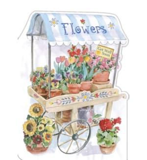 GW/FLOWER CART