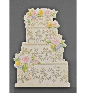 WD/Floral Cake