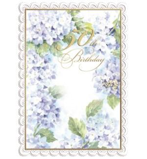 ABD/Blue Hydrangeas 50th