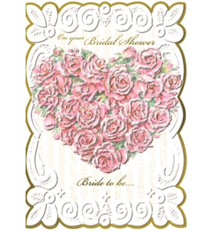 WD/Rose Heart Bridal Shower