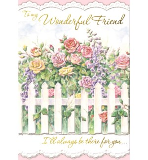 FR/Floral Fence Friend