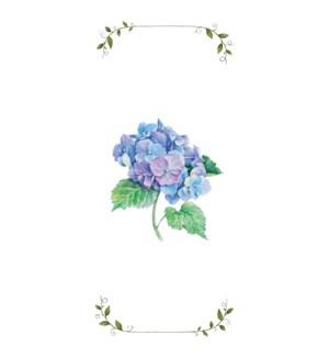 TOWEL/Blue Hydrangea